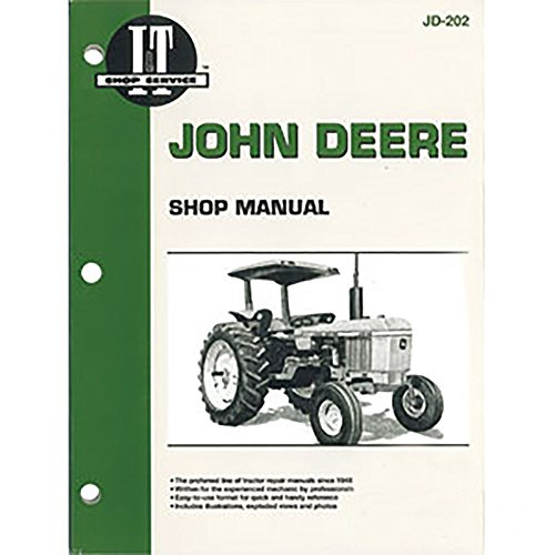 JD202 Shop Manual Made for John Deere Tractor Models 2040 2240 2440 2510 - 2510 Manual