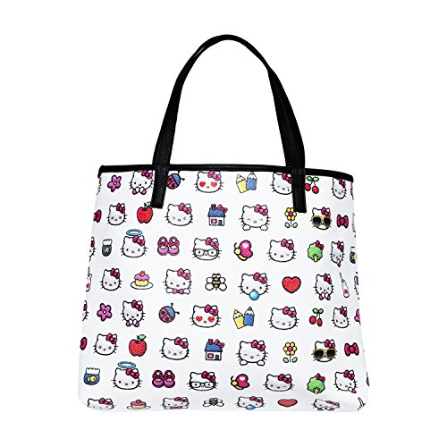 Hello Kitty Emoji Pebble Pu Tote