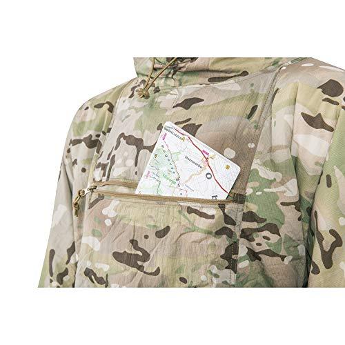 Camouflage Swagman tex Poncho Line Rouleau Motif Helikon Bushcraft 0ZzRS