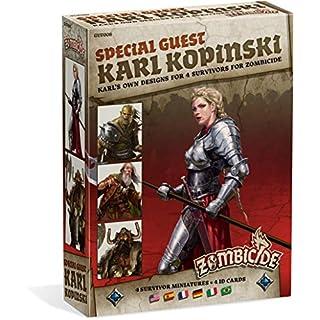 Zombicide: Black Plague Special Guest Karl Kopinski Board Game