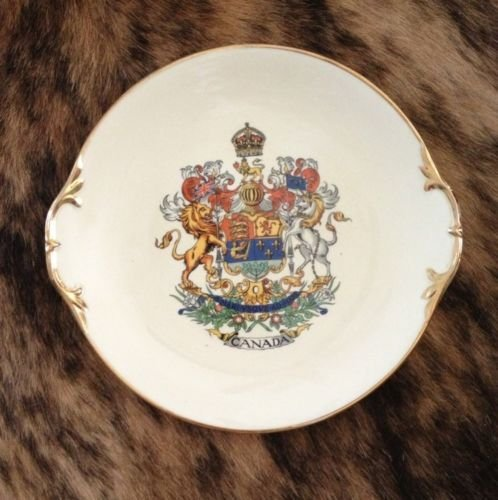 Vintage Canada Collectible Plate -- Royal Winton Grimwades -- Imported from England