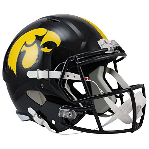 Riddell Iowa Hawkeyes Officially Licensed NCAA Speed Full Size Replica Football Helmet
