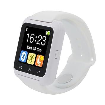 Sannysis® Para iPhone LG Samsung Bluetooth elegante reloj de pulsera de Salud podómetro