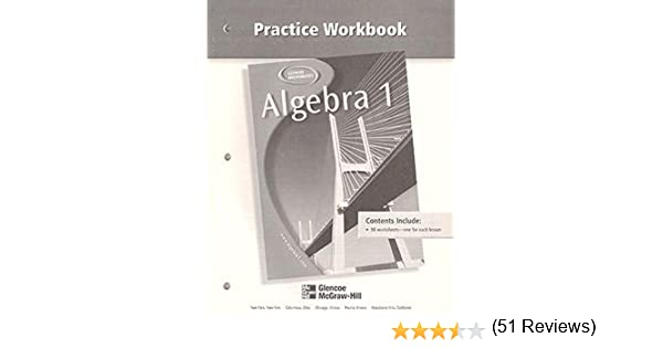 Algebra 1, Practice Workbook: McGraw-Hill: 9780078277481: Amazon ...