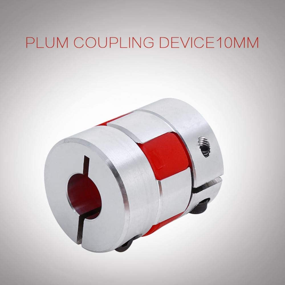 6.35mm x 10mm Flexible Plum Shaft Coupling CNC Stepper Motor Encoder Coupler