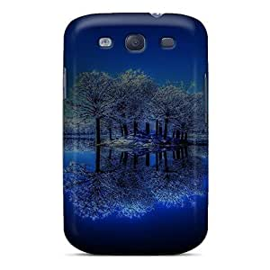 linJUN FENGPerfect Trees Lake Case Cover Skin For Galaxy S3 Phone Case