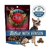Purina ONE True Instinct Bites with Venison, Natural Dog Treats - 198 g