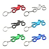 Cheap Swatom Motorcycle Aluminum Alloy Beer Bottle Opener Keychain, Promotional Gifts, 100 Piece