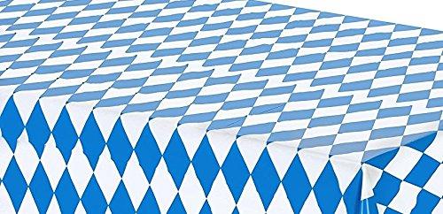 Oktoberfest Party Table Cover Tablecloth 54x108 (Oktoberfest Table Decorations)