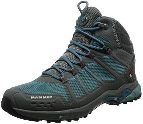 Mammut T Aenergy Mid GTX Women (Backpacking/Hiking Footwear) GREY/DARK AIR