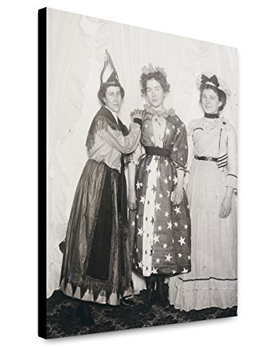 Orville Wright Costume (Canvas Print 20x24: Carrie Kayler, Belle Kayler, And Clo Barnes, December 31...)