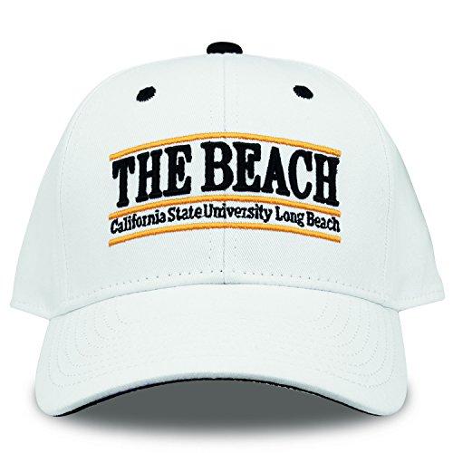 The Game NCAA Cal State Long Beach Bar Design Hat, White, - Long Hat Ncaa