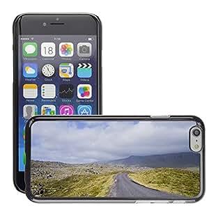 "Super Stella Slim PC Hard Case Cover Skin Armor Shell Protection // M00421781 Road Rural Nature Landscape Sky // Apple iPhone 6 4.7"""
