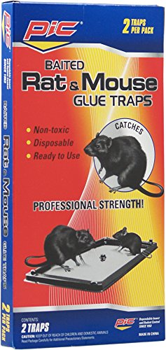 Pic GT2 Glue Rat Tray, 2-Pack