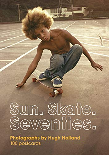 Skateboarding culture of the 1970s is immortalized here by photographer Hugh Holland in this ideal gift format. These 100 colorful postcards celebrate the quintessential street style of young skateboarders honing their skills on asphalt streets and e...
