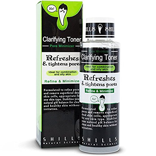 Blemish Control Toner Formula (SHILLS Brightening and Pore Control Toner- Remove Acne, Blackheads and Blemishes. Cleanse Skin 100ML)
