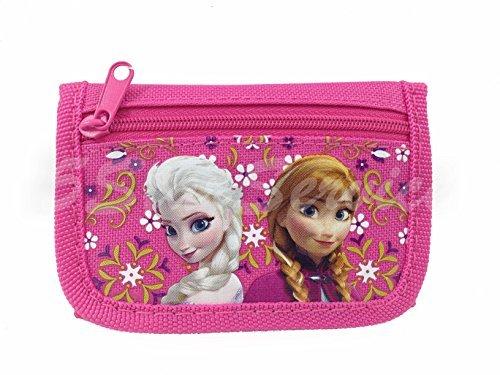 nd Anna Tri Fold Kids Wallet Hot Pink ()