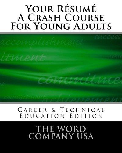 Download Your Résumé: A Crash Course For Young Adults pdf