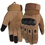 Tactical Glove Airsoft Hard Knuckle Army Combat for Military Motorcycle Cycling Hiking Driving