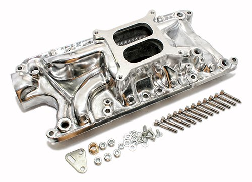 Assault Racing Products PC4000 Small Block Ford Dual Plane Polished Aluminum Intake 1500-6500 RPM SBF 260 289 302