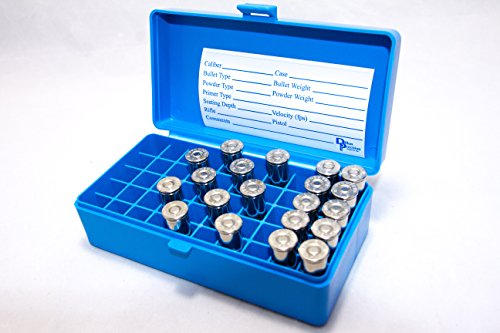 Review Dillon Precision 4 Pack Ammo Box 50 Round 44 mag 41 Mag 45 Colt 44 spcl Ammunition Storage case