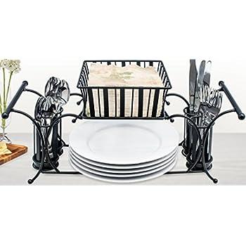 Amazon.com - Gourmet Basics Buffet and Picnic Caddy -