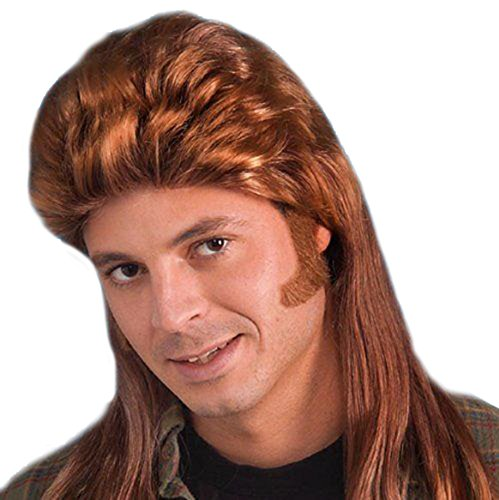 Long Mullet Wig Costume