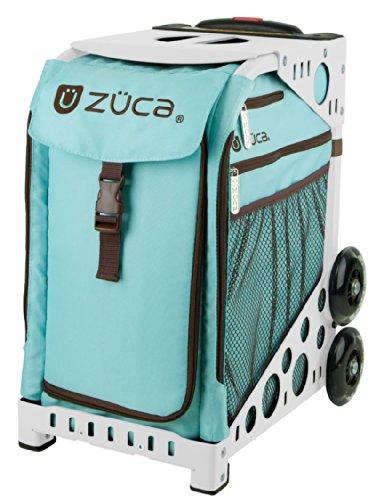 ZUCA Bag Calypso Insert & White Frame w/ Flashing Wheels