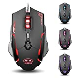 Magece G2 USB Wired Ergonomic Optical Gaming Mouse Mice