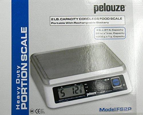Rubbermaid Pelouze FS2P 2lb. Digital Portion Food Scale by Rubbermaid