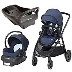 Bundle Includes: Stroller, Car seat, Base & Extra base. Happy travels are ahead with the included Mico 30 car seat. It gives your baby an enjoyable ride both on the stroller and in the car, featuring superior comfort, safety and style fro...