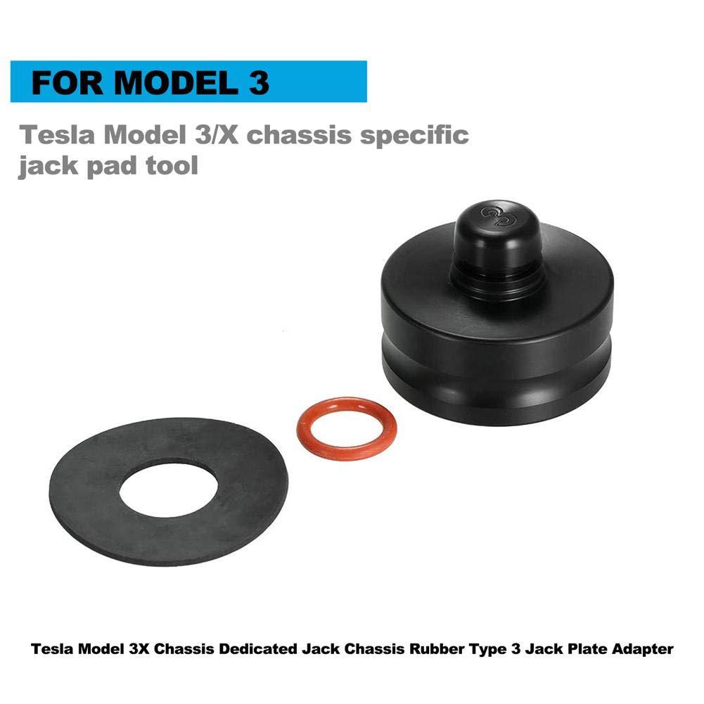 Gaosheng Car Jack Rubber Pad Jack Pad Tool Car Accessory for Tesla Model 3