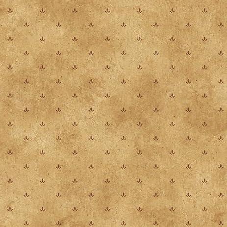 Brewster FFR66414 Yellow Paw Print Wallpaper Paws