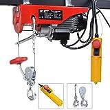 Costway Scaffolding Winch Electric Workshop Garage Gantry Hoist 250kg Lifting 500W
