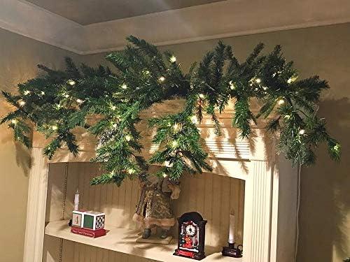 Grandin Road 6 Cascading Christmas Garland