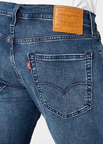 Coupe Bootcut Herren l34 slim Jeans Blau Levi's W33 527 8qIwEBd