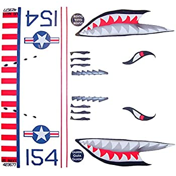 Amazon Com Ka Mixer Cover Kit Flying Tiger Shark Plane