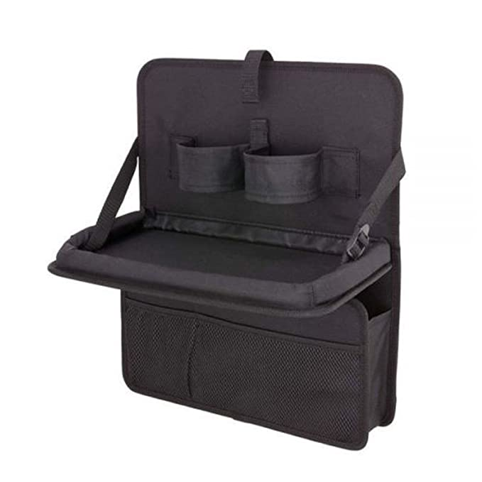 Organizador con bandeja plegable para asientos traseros de coche ...