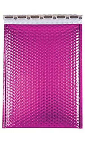 Large Pink Glamour Bubble Mailers Pack of 100 by STORE001