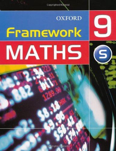 Framework Maths: Support Student's Book Year 9