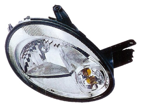 Dodge Neon Headlamp Assembly (Eagle Eyes CS116-B101R Dodge Passenger Side Head Lamp Assembly)