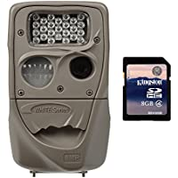 Cuddeback Moonlight 8MP Low Glo 75ft. Infrared Game Trail Camera + 8GB SD Card