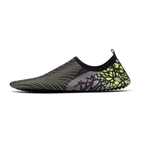 TD D52136 Hombres Y Mujeres Piel Descalza Zapatos Suaves ...