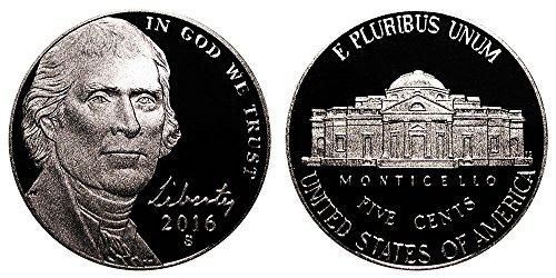 2016 S Proof Jefferson Nickel PF1