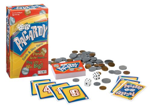 Patch Products Inc. Pacardy Cards and Dice Game, The Penny Ante Game - Pay Little Win Big!