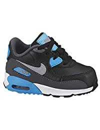 Toddler Boys Nike Air Max 90 Sneakers New, Black / Blue Lagoon sz 5c