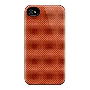 Back Cases Covers For Iphone 6 - Orange Canvas