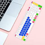 Lapogy Keyboard Cover Skin for 15.6 inch,HP
