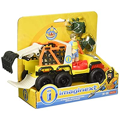 Fisher-Price Imaginext Six Wheeler Truck Play Set: Toys & Games