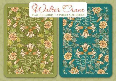 Walter Crane Playing Cards: 2 Poker-size Decks